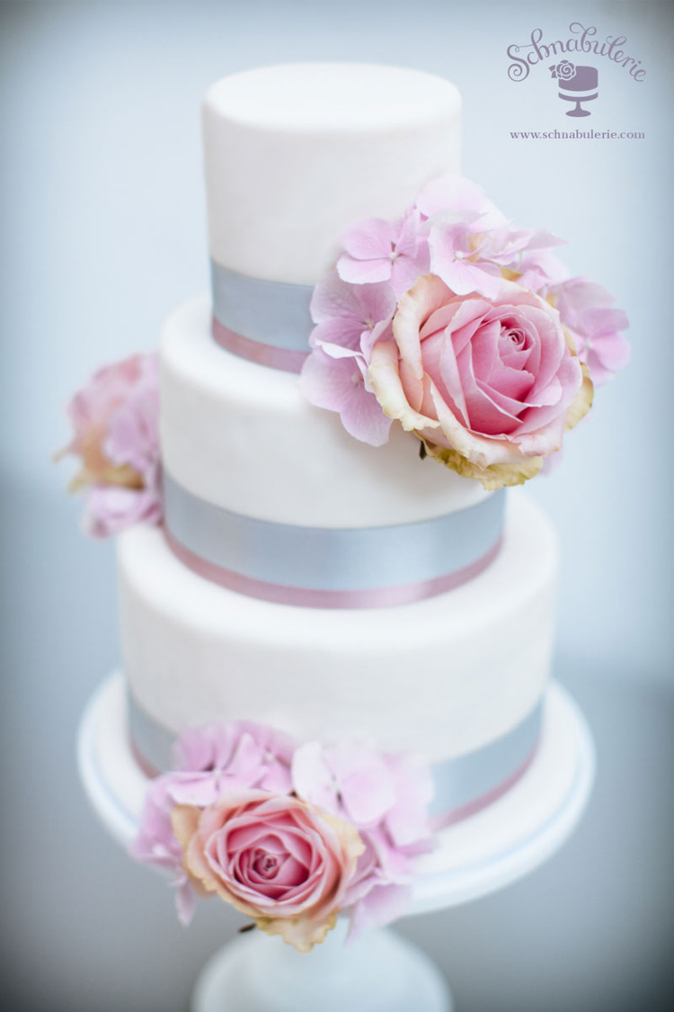 Romantische Hochzeit In Rosa Und Grau