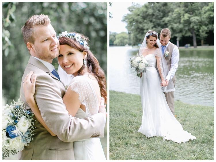 Romantische Vintage Hochzeit Im Freien